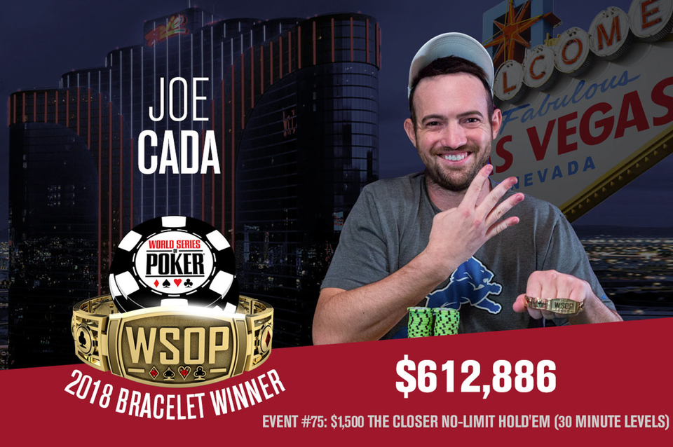 Joe Cada Bаgs Two Bracelets over this WSOP Edition after Event #75: The Closer – $1,500 NLHE
