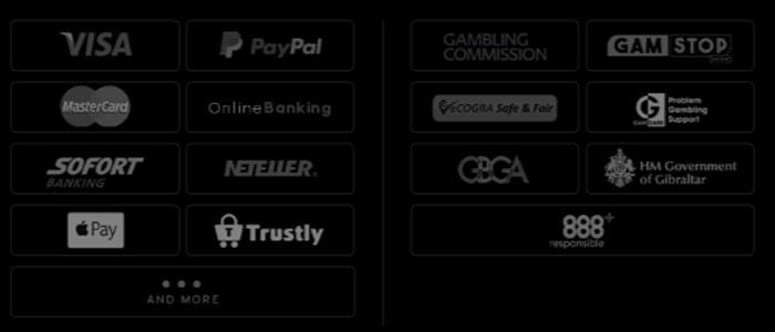 888casino App Payment Methods