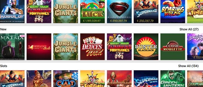 Casino.com App Games
