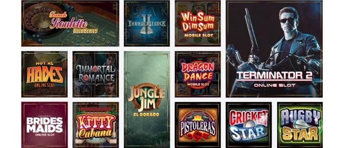 Luxury Casino App Games