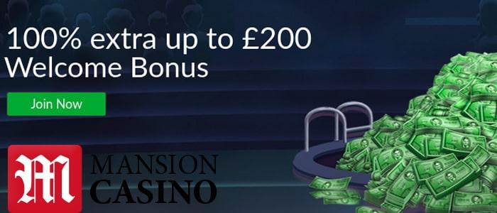 Mansion Casino App Bonus