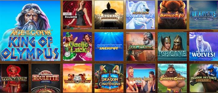 Mansion Casino App Games