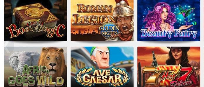 Omni Slots Casino App Games