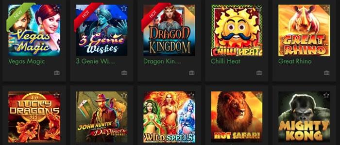 Rich Casino App Games