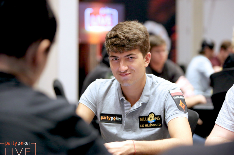 Dzmitry Urbanovich Emerges as Chip Leader after CPP $5,300 Main Event Day 2A