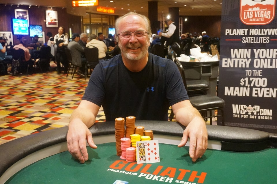 Kevin Lott Conquers 2018/19 WSOP Circuit Planet Hollywood Event#3 and Starts New Career in Poker at 55