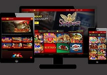 Planet7 Casino Design