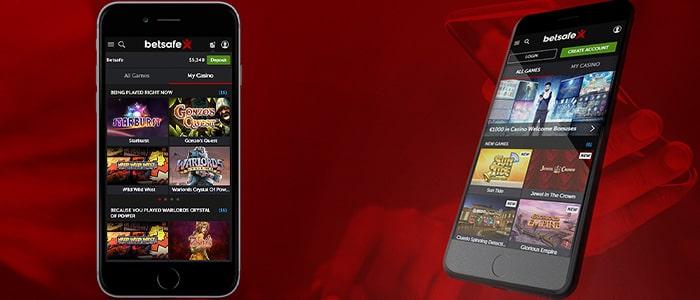 Betsafe Casino App Games
