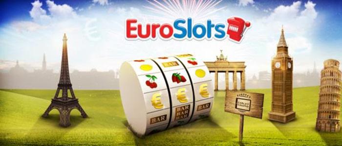 EuroSlots Casino App Intro