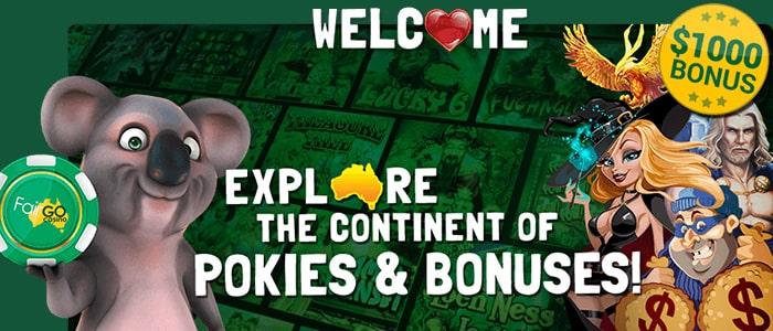 Fair Go Casino App Intro