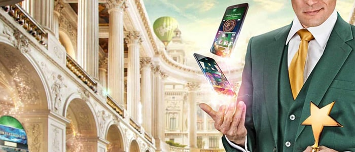 Mr Green Casino App Intro