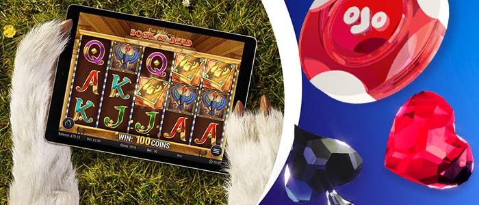 PlayOJO Casino App Games