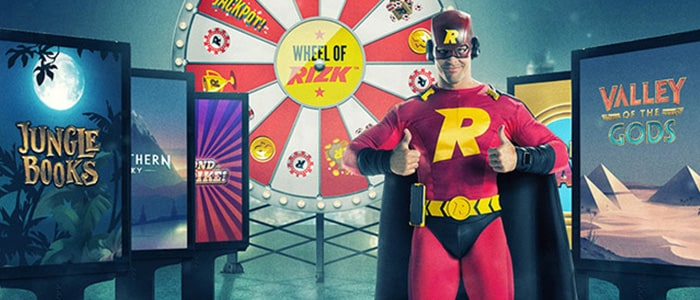 Rizk Casino App Games