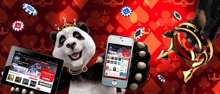 Royal Panda Casino App Intro