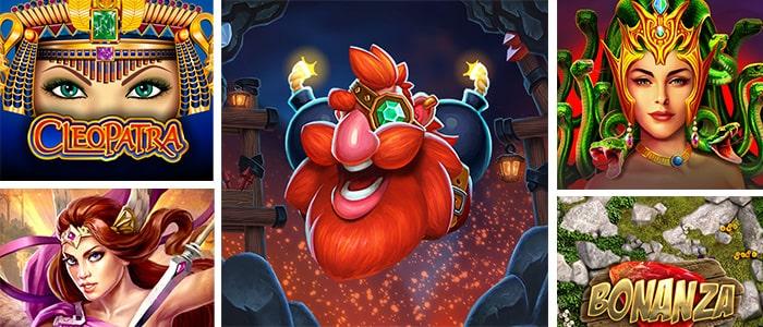 RoyalSlots Casino App Games