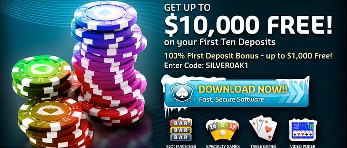 Silver Oak Casino App Bonus