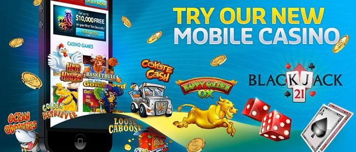 Silver Oak Casino App Intro