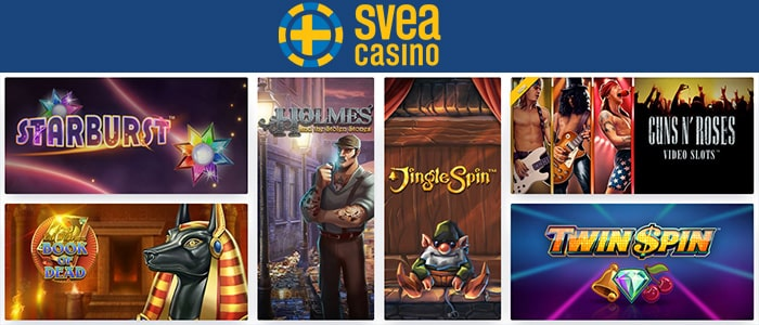 Svea Casino App Games