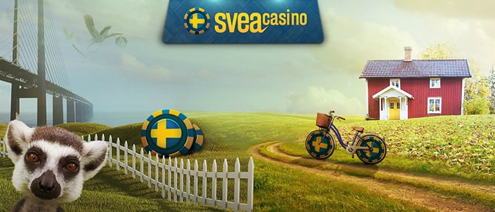 Svea Casino App Intro