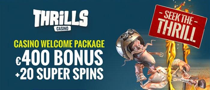 Thrills Casino App Bonus
