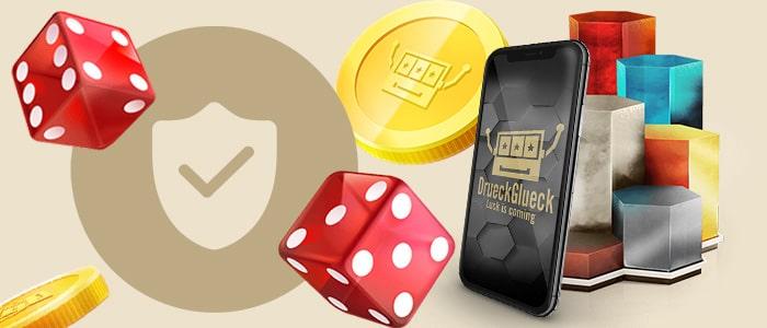 drueckglueck casino app safety