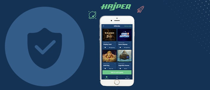 hajper casino app safety