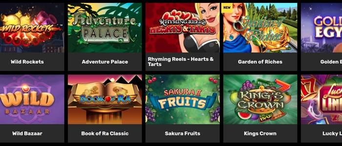 hyper casino app games