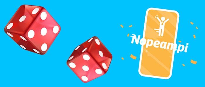 nopeampi casino app support