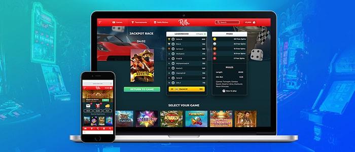 rolla casino app support