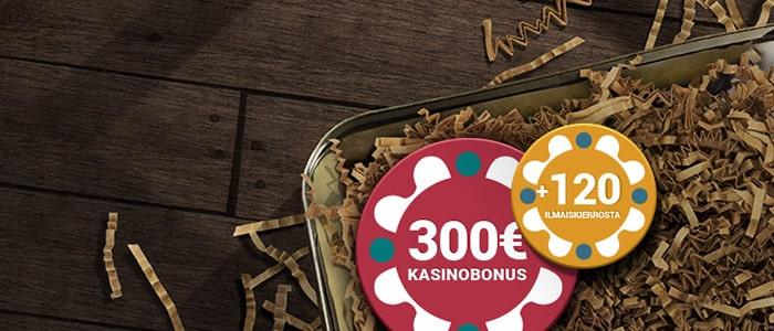 suomikasino app bonus