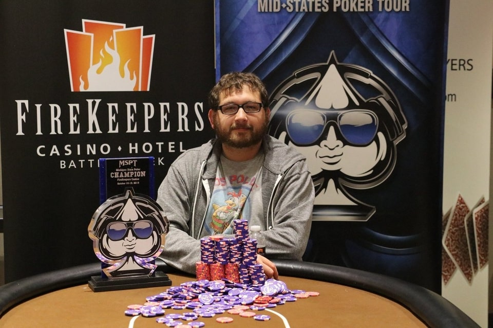 Bobby Noel Emerges Victorious from 2019 MSPT $1,000,000 Michigan State Poker Championship