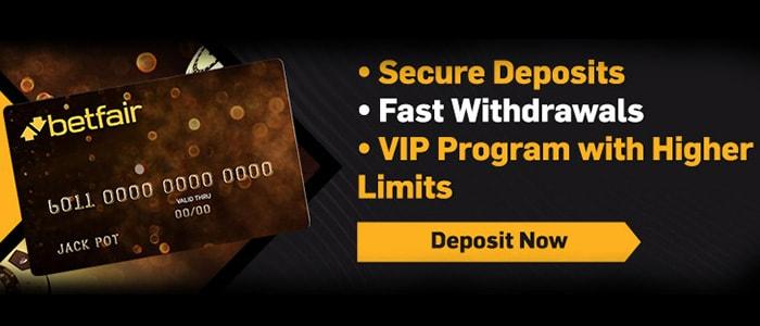 Betfair Casino App Banking