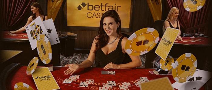 Betfair Casino App Intro