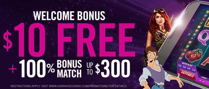 Harrah's Casino App Bonuses