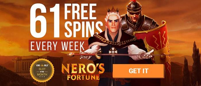 King Billy Casino App Bonus