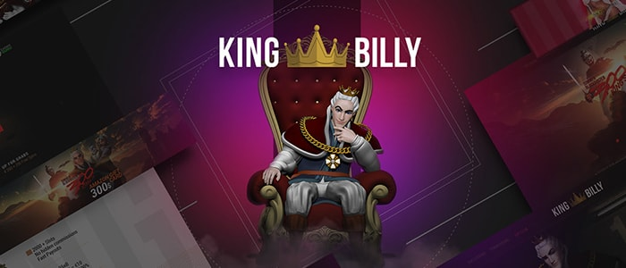 King Billy Casino App Intro
