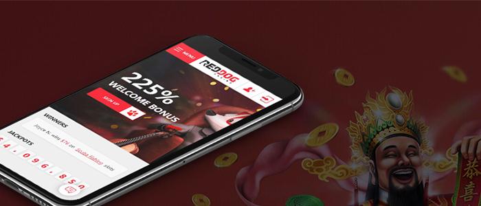 Red Dog Casino App Games