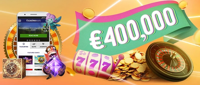 CasinoEuro App Bonus