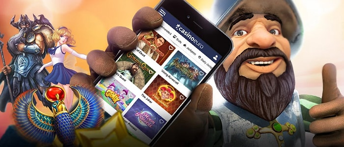 CasinoEuro App Intro