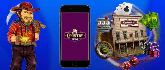 High Country Casino App Intro