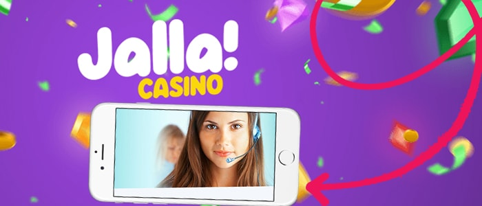 Jalla Casino App Support