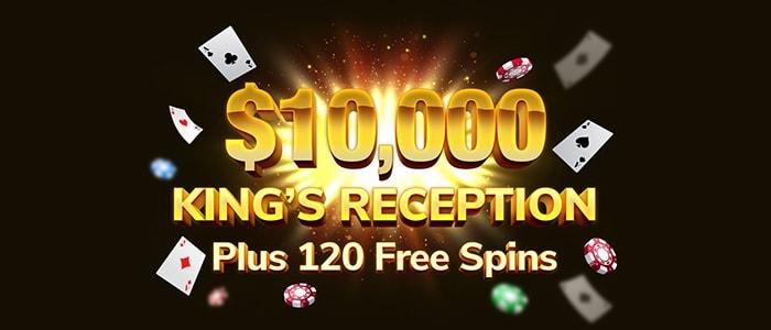 Kings Chance Casino App Bonus