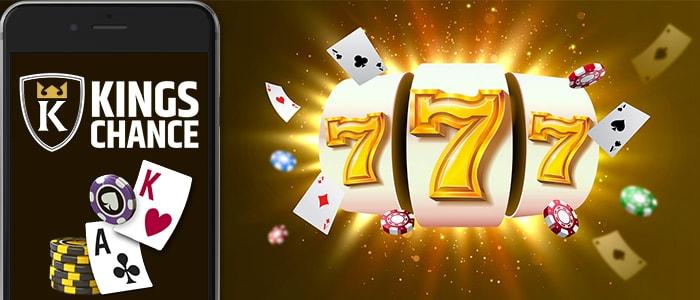 Kings Chance Casino App Intro