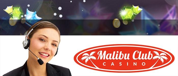 Malibu Club Casino App Support
