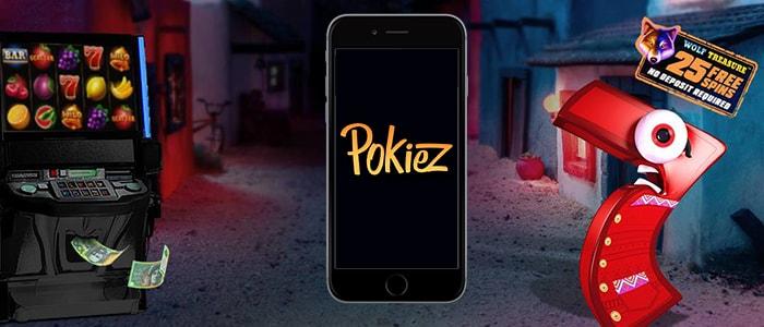 PokieZ Casino App Intro