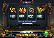 Ankh of Anubis Slot Combinations and Jackpots