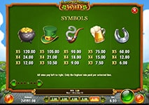 Leprechaun Goes Wild Slot Winning Combinations and Jackpots