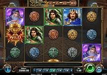The Sword & The Grail Slot Theme