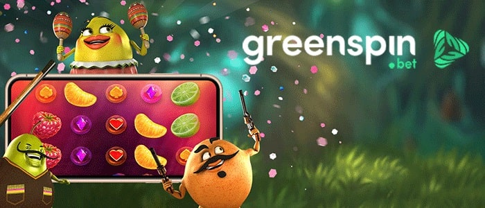 Green Spin Casino App Cover