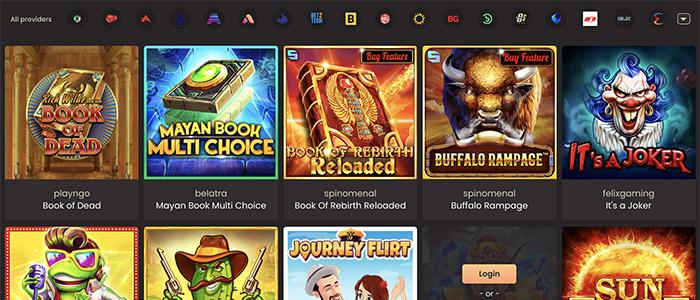National Casino App Games